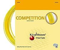 Kirschbaum Set Competition Tennis String Yellow 1.30mm/16-Gauge [並行輸入品]