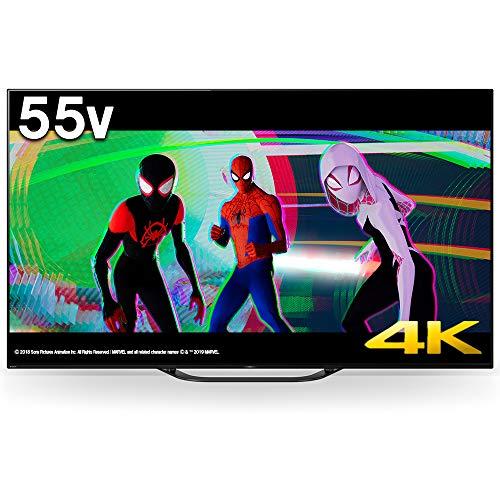55V型 有機ELパネル 地上・BS・110度CSデジタル4K対応テレビ(別売USB HDD録画対応)Android TV 機能搭載BRAVIA ソニー(SONY) KJ-55A8G