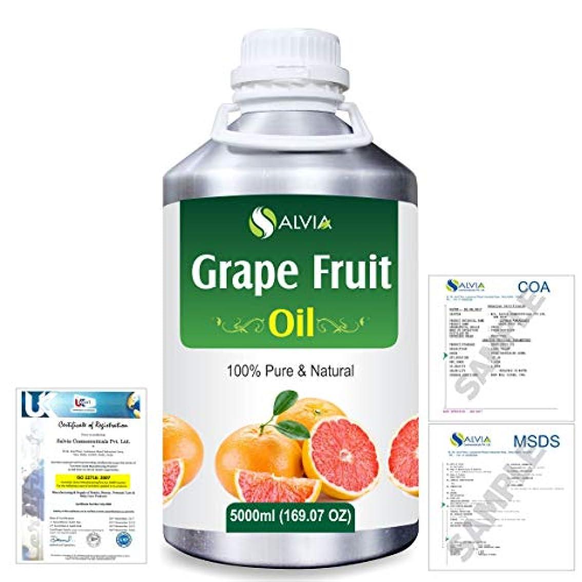 へこみ土地襲撃Grapefruit (Citrus paradisi) 100% Natural Pure Essential Oil 5000ml/169fl.oz.