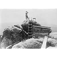 Fire lookout in Pike National Forest写真 9 x 12 Art Print LANT-4756-9x12