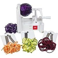 Paderno World Cuisine A4982799 Tri-Blade Plastic Spiral Vegetable Slicer 野菜スライサー 並行輸入品
