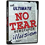 Magic Makers The Ultimate NO TEAR Newspaper Illusion Magic Training - Packs Flat Plays BIG!