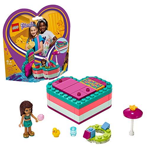 レゴ(LEGO) フレンズ ハートの小物入れ アンドレアのビーチバカンス 41384