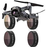 PGY-TECH DJI Mavic Air用 レンズフィルター (ND-PL4枚セット[ND4-PL/ND8-PL/ND16-PL/ND32-PL]) [並行輸入品]