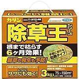 (まとめ) フマキラー カダン除草王 オールキラー粒剤 3kg 1本 【×2セット】 [簡易パッケージ品]