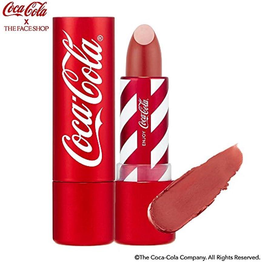 メトリック名前楽しむ[ザ?フェイスショップ] THE FACE SHOP [コカ?コーラ リップスティック 3.5g 限定版] (Coca Cola Lipstick 3.5g Limited Edition) [海外直送品] (05. ヴィンテージ...