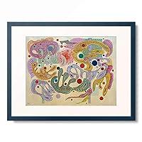 ワシリー・カンディンスキー Wassily Kandinsky (Vassily Kandinsky) 「Formes capricieuses」 額装アート作品