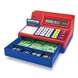 Best 玩具レジ - Pretend & Play(R) Calculator Cash Register 電卓式レジ 米ドル付き Review
