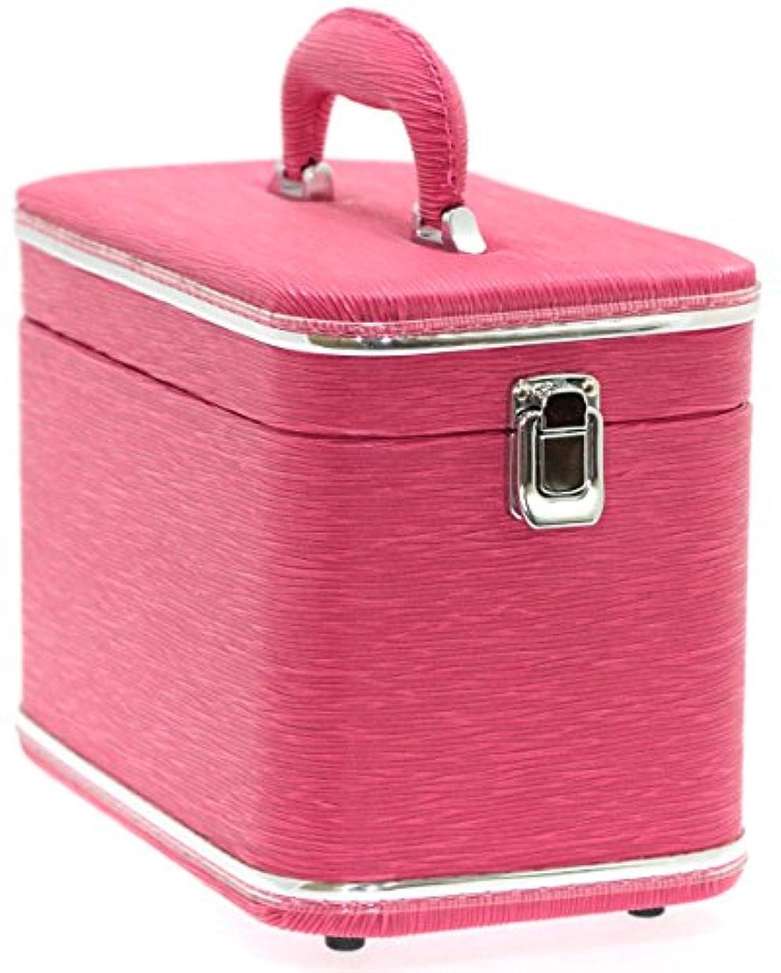 効率フリースわかりやすいエピ調水絞縦型トレンチケース ピンク 鍵無 6489-15