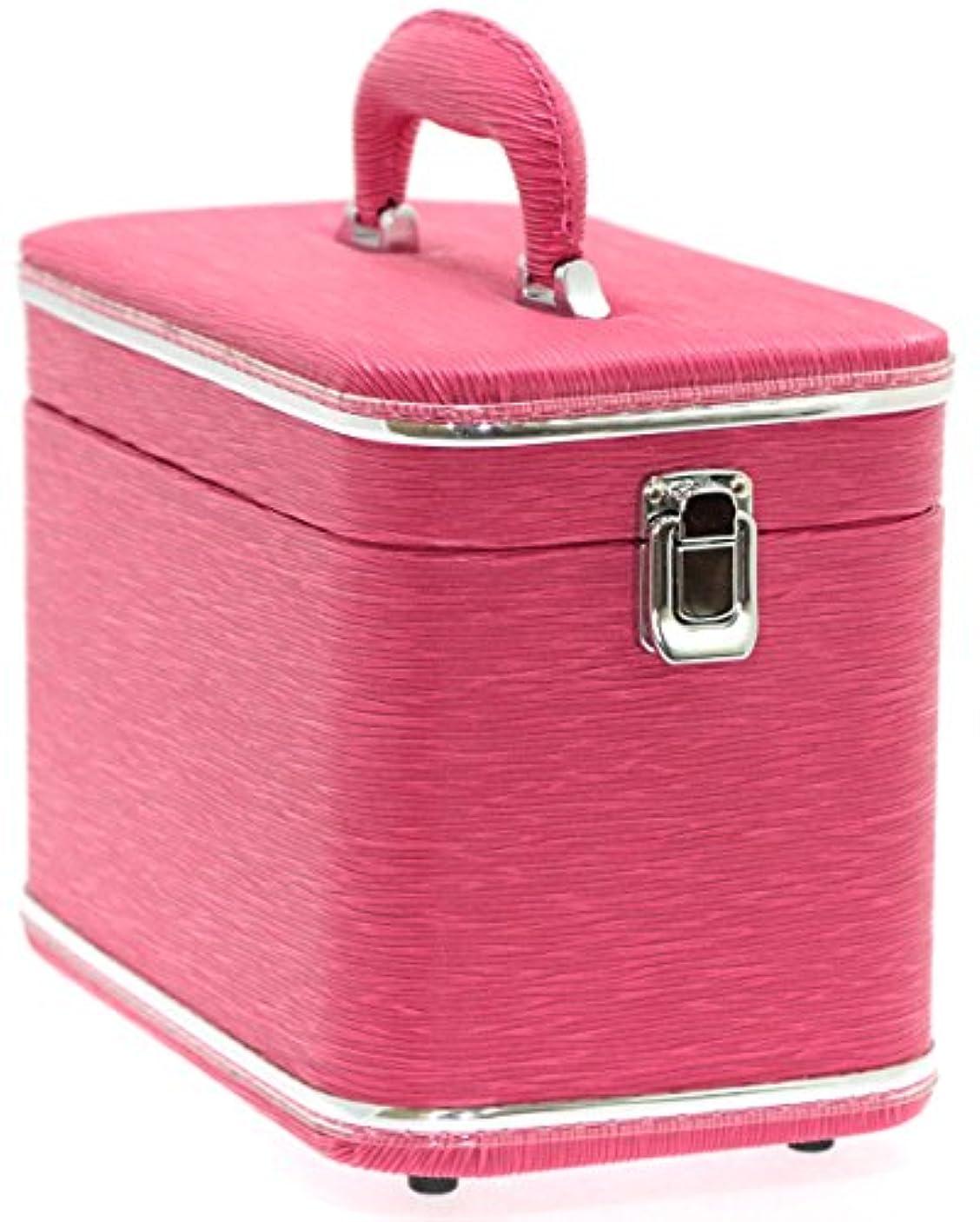 本会議冷淡な提案するエピ調水絞縦型トレンチケース ピンク 鍵無 6489-15