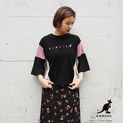 179/WG(179 WG) KANGOLコラボカラーブロック7分袖Tシャツ