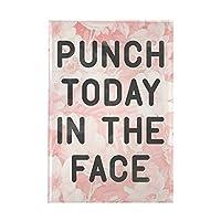 CafePress Punch Today 長方形マグネット 2インチx3インチ 冷蔵庫マグネット