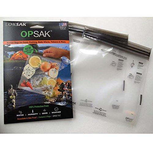 (ロックサック) LOKSAK OPSAK 防臭バック(2枚入り) XSサイズ OPD2-7X7