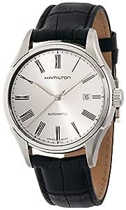 [ハミルトン]HAMILTON 腕時計 Valiant auto(バリアント オート) roman SLB leather H39515754 メンズ 【正規輸入品】