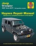 ヘインズ刊「JEEP WRANGLER (1987-2017年モデル)」整備マニュアル