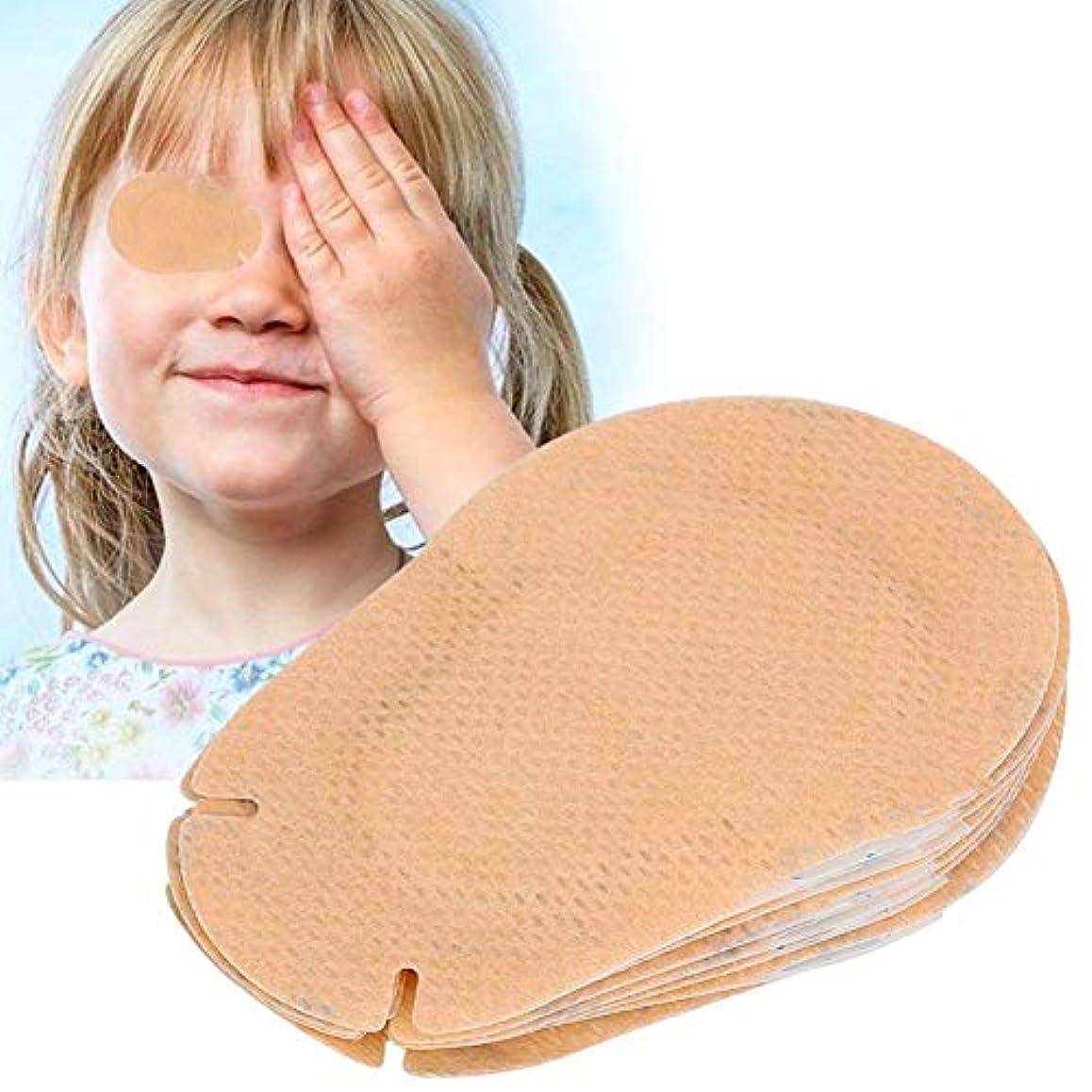 臨検実験室ハイブリッドSemme 20ピースキッズアイパッチ、子供弱視矯正アイシェードトレーニング修正アイパッチ