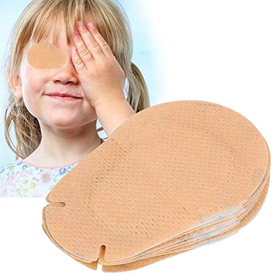 Semme 20ピースキッズアイパッチ、子供弱視矯正アイシェードトレーニング修正アイパッチ