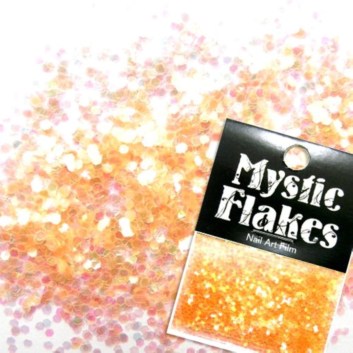 発火する圧縮された疑問に思うミスティックフレース ネイル用ストーン パールオレンジ ヘキサゴン 1mm 0.5g