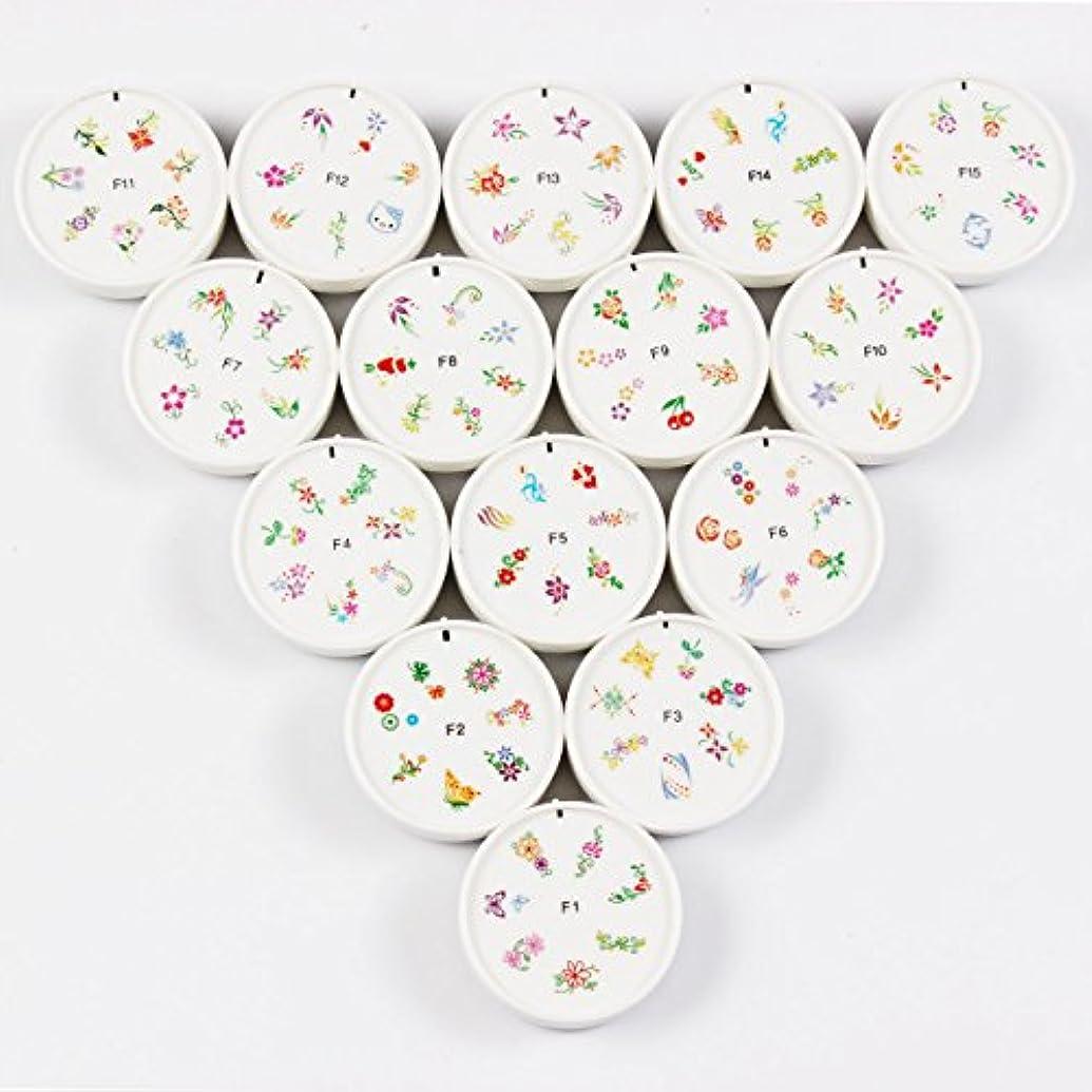 後世コンデンサーエイリアンFingerAngel ネイルイスタンプセット 15枚 ホワイト ネイルスタンパー ゴム プラスチック ネイルアート