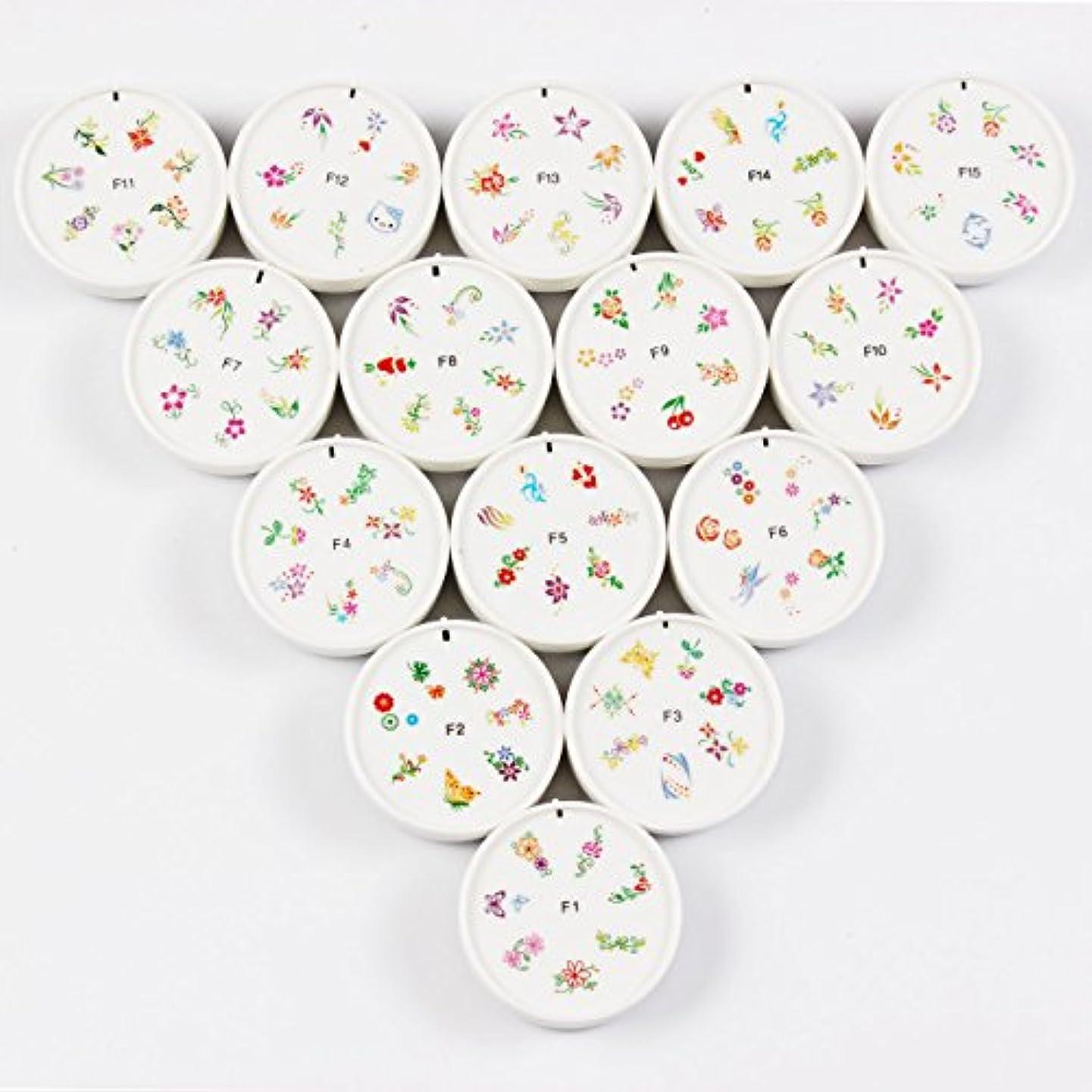 紳士気取りの、きざな製油所調整可能FingerAngel ネイルイスタンプセット 15枚 ホワイト ネイルスタンパー ゴム プラスチック ネイルアート