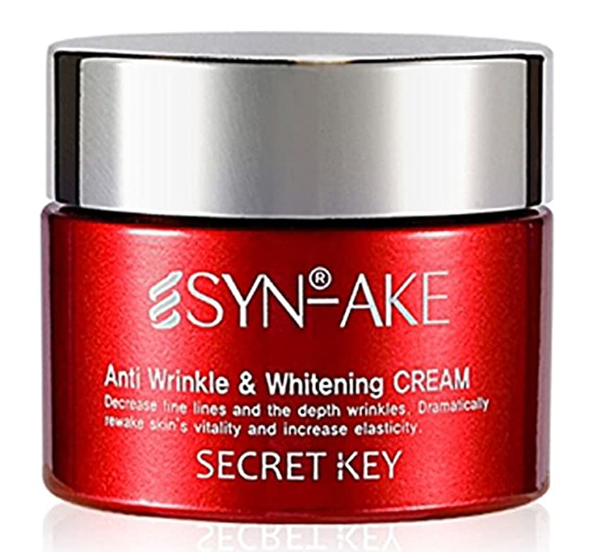 火曜日拡張おかしいSYN-AKE Anti Wrinkle & Whitening cream(50ml)