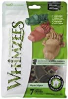 Paragon Whimzees Alligator Dental Treat for Large Dogs, 7 Per Bag by Whimzees [並行輸入品]