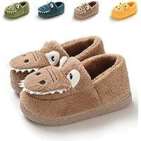Sakuracan Toddler Boys Girls Cute Cartoon Animals Slippers Cozy Winter Warm House Shoes