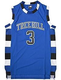 Molpeスコット?# 3ツリーヒルRavens Basketball Jersey SXXXLブルー