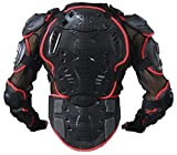 ウミネコ(Umineko) UM-SxHxR-AMR02 コンパクト ボディプロテクター レッド M 上半身 プロテクター SxHxR3層耐衝撃構造 ムレにくい ハンドゲーター メッシュ 背中 胸 ヒジ 腕 肩 腰 6点ガード バイク モトクロス ポケバイ インライン スケート スノボ 胸囲100