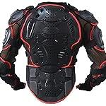 ウミネコ(Umineko) UM-SxHxR-AMR02 コンパクト ボディプロテクター レッド XXXL 上半身 プロテクター SxHxR3層耐衝撃構造 ムレにくい ハンドゲーター メッシュ 背中 胸 ヒジ 腕 肩 腰 6点ガード バイク モトクロス ポケバイ インライン スノボ 胸囲124