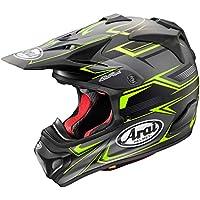 アライ(ARAI) バイクヘルメット フルフェイス V-CROSS4 SLY (V-クロス4 スライ) 艶消し 黒/イエロー 57cm~58cm V-CROSS4