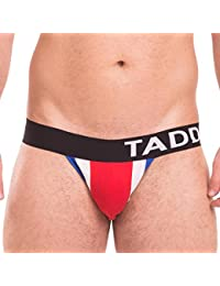 Taddlee UNDERWEAR メンズ US サイズ: Large カラー: レッド