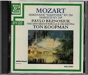 Mozart:Haffner Serenade,March.