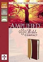 Holy Bible: Amplified Bible Camel / Burgundy Italian Duo-Tone