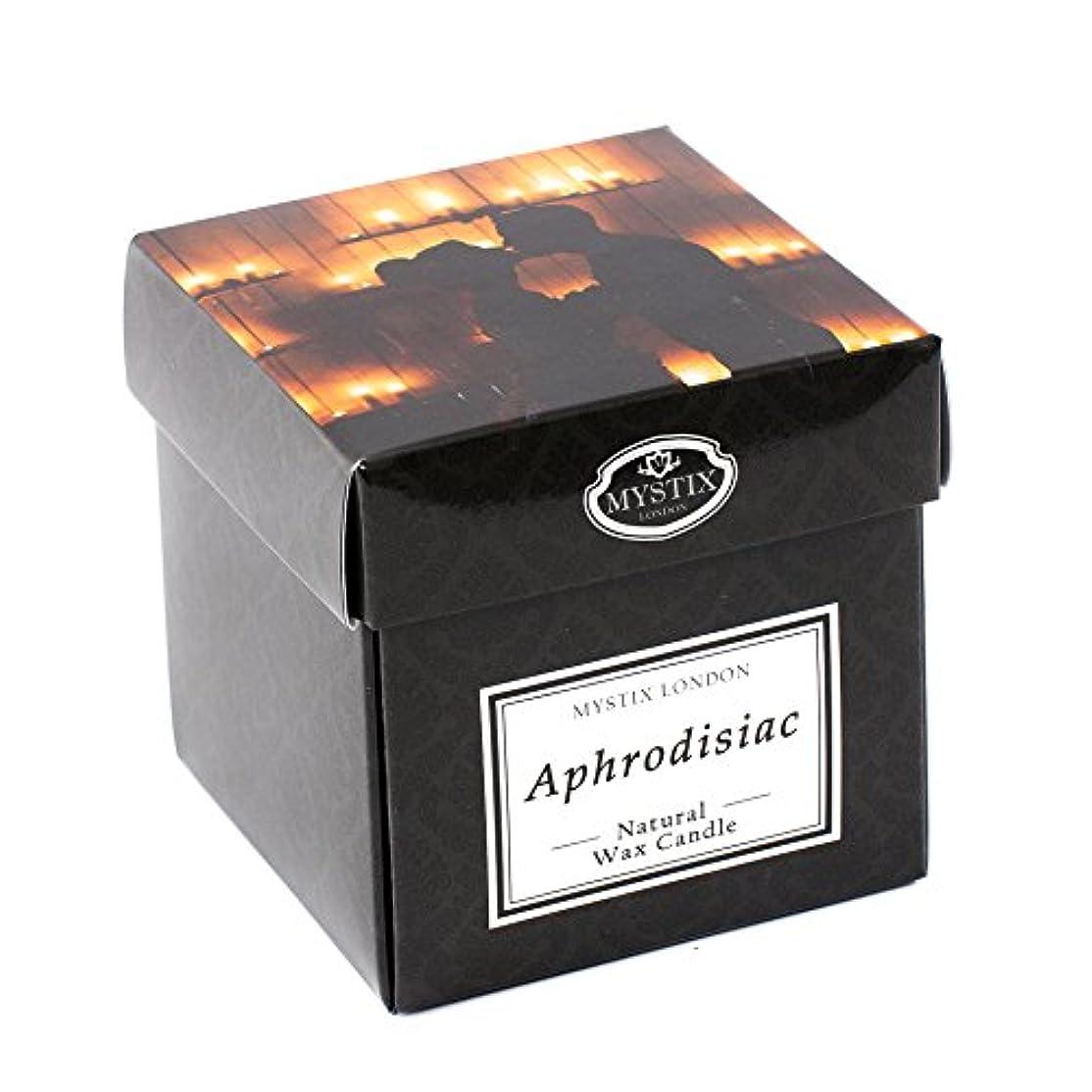 ラウズ従順な評論家Mystix London | Aphrodisiac Scented Candle - Large