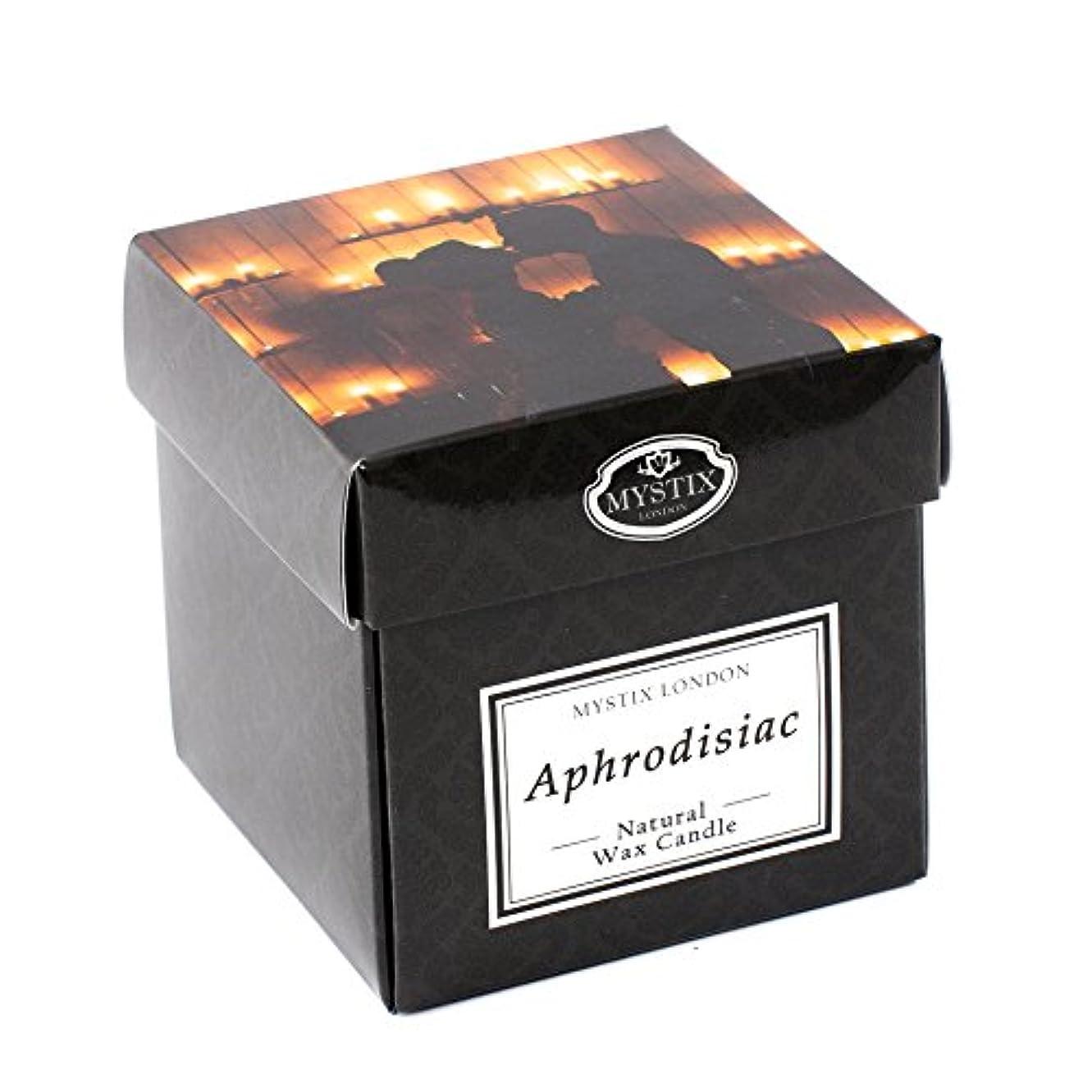 倫理パーフェルビッド買収Mystix London   Aphrodisiac Scented Candle - Large
