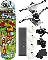 """Enjoi Skateboardsカーニバルスケートボード7.75"""" X 31.5"""" Complete Skateboard–7項目のバンドル"""