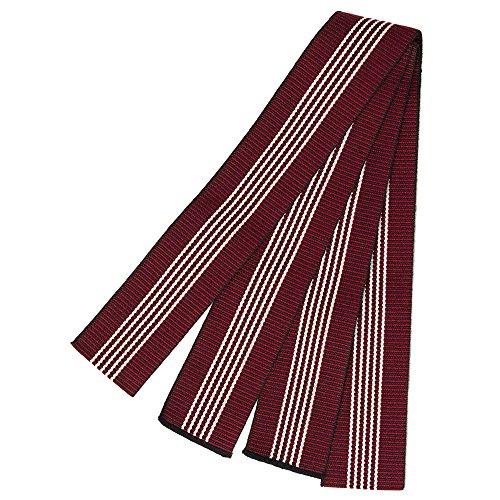 (キョウエツ) KYOETSU 日本製 丹前帯 平帯 旅館浴衣帯 女性 (赤)