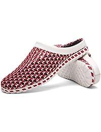 MMSTARS 男の夏のレジャーシューズ、川までの靴、涉水靴、ビーチサンダル 便利である、軽量、ファッション、室内の屋外兼用
