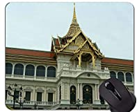 個人化されるマウスパッドステッチされた端が付いている壮大な宮殿の釈迦浄化のマウスパッド