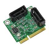 Bplus Technology ビープラス mPCIe - SATA3変換アダプタ PM1061 V1.0