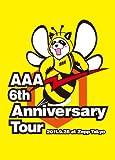 AAA 6th Anniversary Tour 2011.9.28 at Zepp Tokyo [DVD] 画像