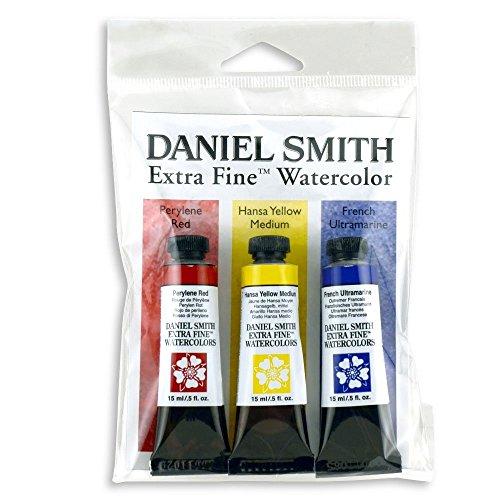 Daniel Smith ダニエル・スミス 水彩絵具 15mlチューブ プライマリーセット