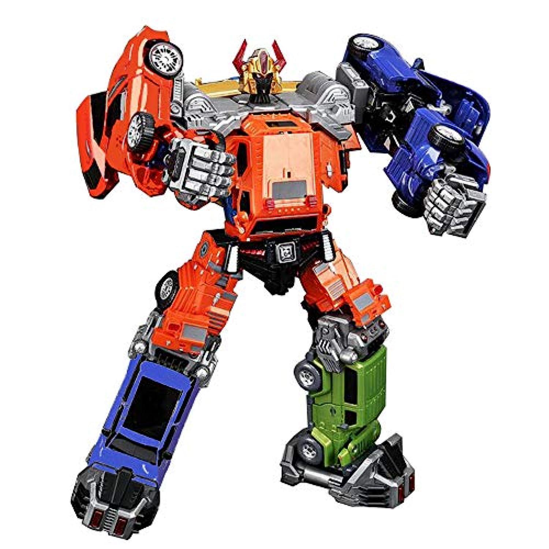 JQ trend おもちゃ 変形 ロボットWEIJIANG 自動車チーム (6体合体(6点セット))