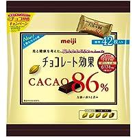 明治 チョコレート効果カカオ86% 大袋 210g