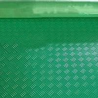 PVCゴム滑り止めマット、プラスチックフロアマット、防水および耐摩耗カーペット CONGMING (色 : Green, サイズ さいず : 0.9m*10m)