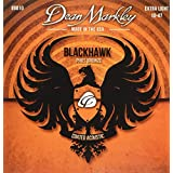 Dean Markley コーティングアコースティック弦 Black Hawk Coated Acoustic -Phosphor Bronze- 8010 Extra Light .010-.047