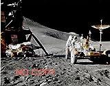 写真、歴史/科学:アポロ15号、月面での月着陸船と月面車