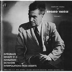 ヴァレーズ コンプリート・ワークス vol.1の商品写真
