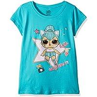 L.O.L. Surprise! Girls The Glitterati Kitty Queen Short Sleeve T-Shirt Short Sleeve T-Shirt - Blue